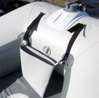 Сумка для якоря до 3.5 кг на баллон лодки (30 на 18 см) Арт Bdr