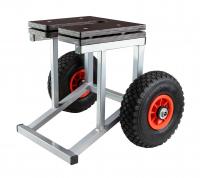 Тележка под двигатель,свободные струбцины, грузоподъемность до 60 кг Арт Ptr