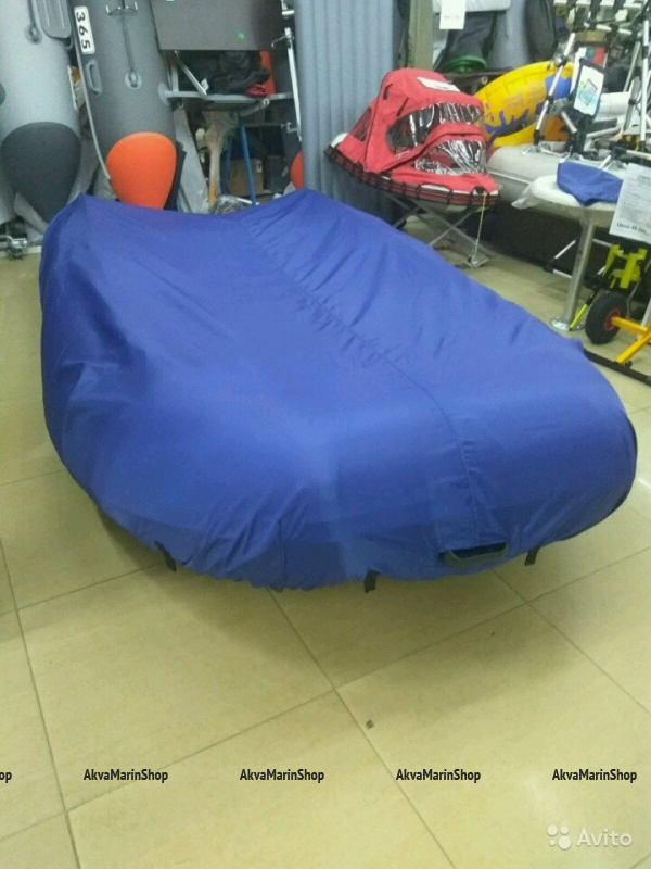 Тент-накидка стояночный для надувной лодки ПВХ из ткани Оксфорд 400