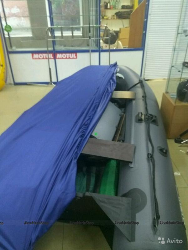 Тент-накидка стояночный для надувной лодки ПВХ