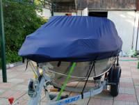 Тент транспортировочный-стояночный на лодку Обь Арт Vdm L
