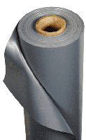 Ткань ПВХ метражом ширина 0,5 метра 750 гр/м2 серый
