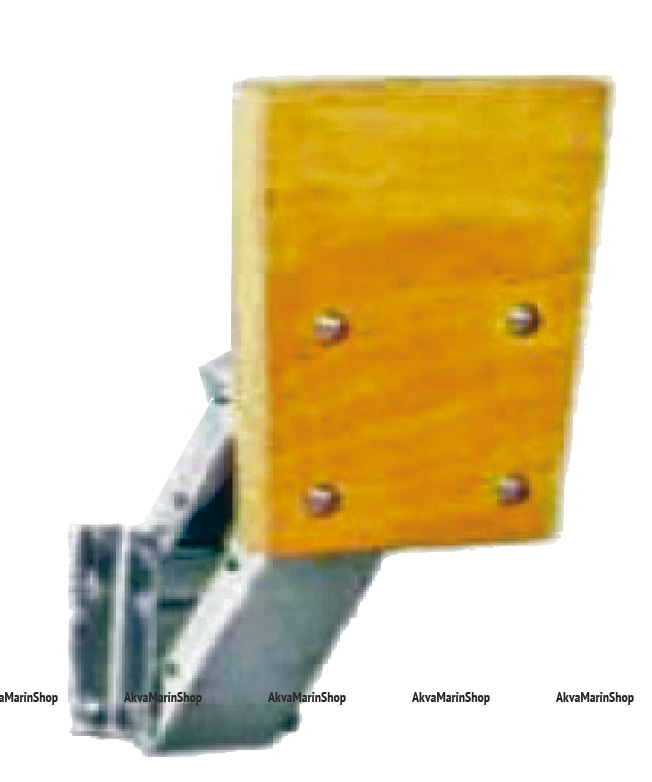 Транец выносной регулируемый для моторов до 15 л/с алюминиевое основание, фанера Арт KMG 210061