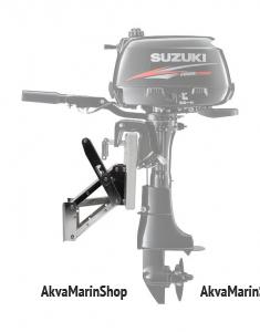 Транец выносной регулируемый для моторов до 20 л.с. нержавеющее основание, пластик Арт KMG 210060