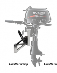 Транец выносной регулируемый для моторов до 25 л.с. нержавеющее основание и фанера Арт KMG 210370
