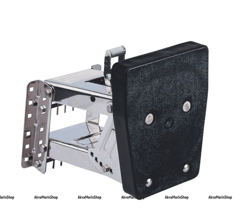Транец выносной регулируемый для моторов до 30 л.с. нержавеющее основание, пластик Арт KMG 210279