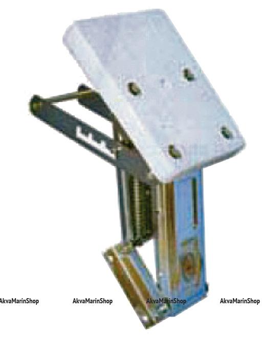 Транец выносной регулируемый для моторов до 9 л.с. нержавеющее основание, пластик Арт KMG 210004