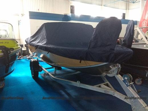 Транспортировочный-стояночный тент для катера Quintrex Арт VdmMod