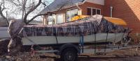 Транспортировочный-стояночный тент для лодки Прогресс 2, Прогресс 4 Арт Vdm XL