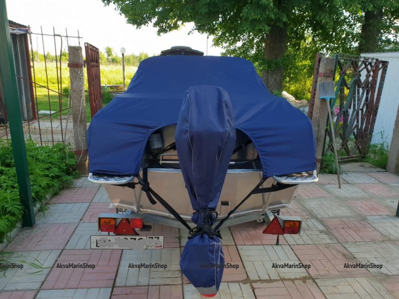 Транспортировочный–стояночный тент для катера REINELL 185 Арт Vdm