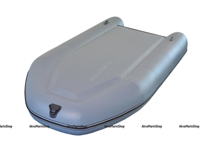 Транцевая лодка с надувным дном высокого давления FLINC FT360LA