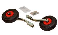 Транцевые колеса быстросъемные оцинкованные в комплекте с сумкой для хранения Арт Ptr