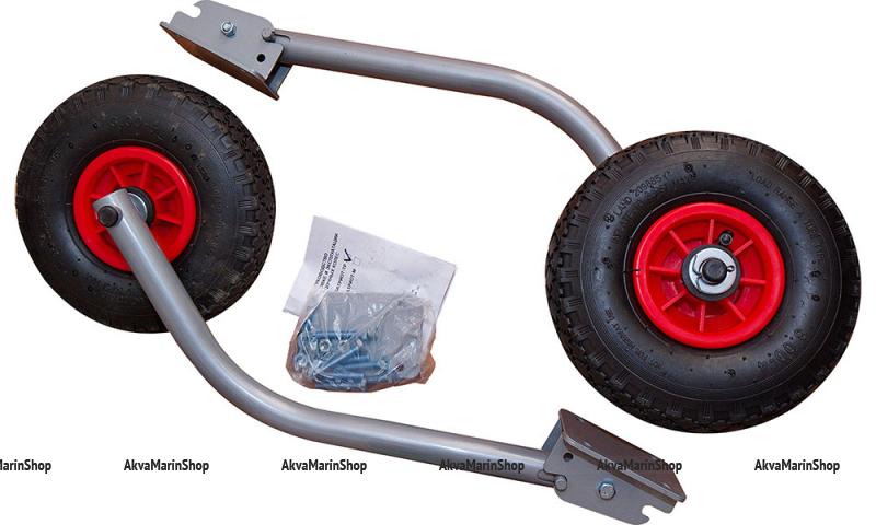 Транцевые колеса перекидные под нднд порошковая окраска Арт Ptr