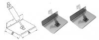 Транцевые плиты из нержавеющей стали для установки с гидравлическим приводом Арт CMG