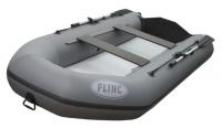 Трехместная надувная моторная лодка с дном высокого давления Flinc FT320LA