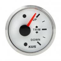 Трим-указатель Suzuki белый циферблат нержавеющий ободок д. 52 мм KUS Арт VDNJMV00302_KY09120