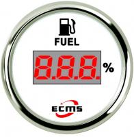 Цифровой указатель уровня топлива белый Арт Skipper 800-00126