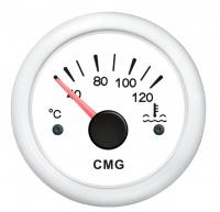 Указатель температуры двигателя белый с белой окантовкой WEMA Арт KMG 510019