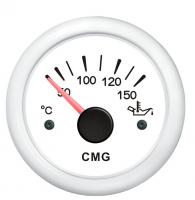 Указатель температуры масла белый с белой окантовкой WEMA Арт KMG510023