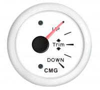 Указатель трима белый с белой окантовкой с вертикальной шкалой WEMA Арт KMG510025