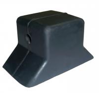 Упор для трейлера основание 140х76 мм диаметр отверстия 14 мм Арт CMG210270