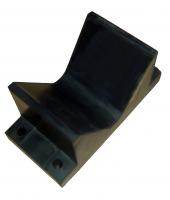 Упор килевой для форштевня катера 160х110 мм на плоскость Арт CMG210223