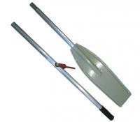Весло катерное разборное с уключиной лопасть алюминиевая длина 230 см Арт Vial