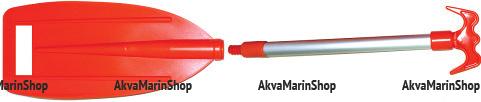 Весло телескопическое с отпорным крюком 81-110 см Арт KMG 210193