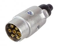 Вилка для прицепа металлическая 7 контактов Арт Vdn 87803