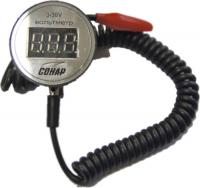Вольтметр водозащищенный 3-30 В (Клипса) Арт Snr