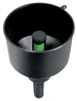 Воронка с фильтром средняя, чёрная, антистатик Арт CMG 410171
