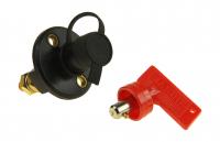 """Выключатель массы-ключ """"OFF-ON"""" (1 АКБ) 300А 12-48 В с защитным колпачком Арт Vdn AES121111A"""