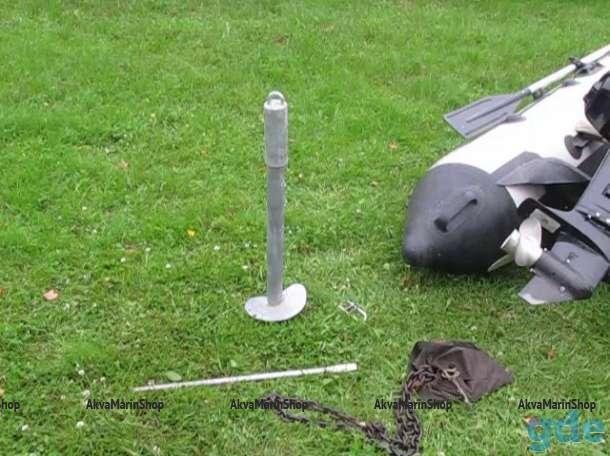 Якорь - антивор - винтовой грунтовый (причальный) якорь Арт М 2