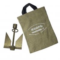 """Якорь """"Непотеряйка-3"""" крашеный в сумке вес 3 кг Арт Rdk"""