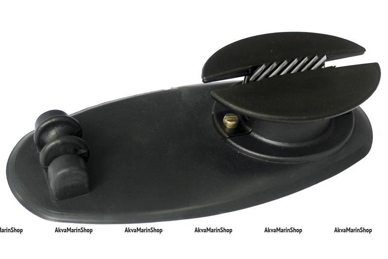 Якорный рым с роликом для надувной лодки для фала от 6 до 10 мм Арт Adm