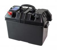 Ящик для АКБ 335х185х225 мм, с клеммами и прикуривателем Арт Vdn C11537
