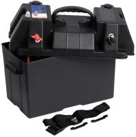 Ящик (бокс) для аккумуляторной батареи с индикатором заряда и клеммами 195х205х295мм Арт CMG 310029