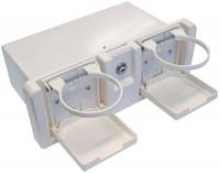 Ящик перчаточный пластиковый с двумя подстаканниками Арт CMG 710291