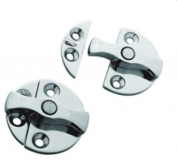 Задвижка поворотная для двери диаметр 45 мм нержавеющая сталь Арт CMG 710264