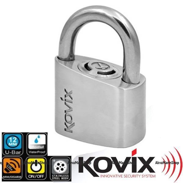 Замок с сигнализацией Kovix KPL 10 Арт Kovix KPL 10